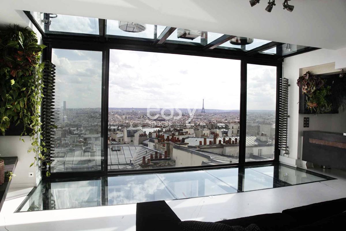 Location appartement contemporain pour shooting tournage for Location appartement meuble sur paris