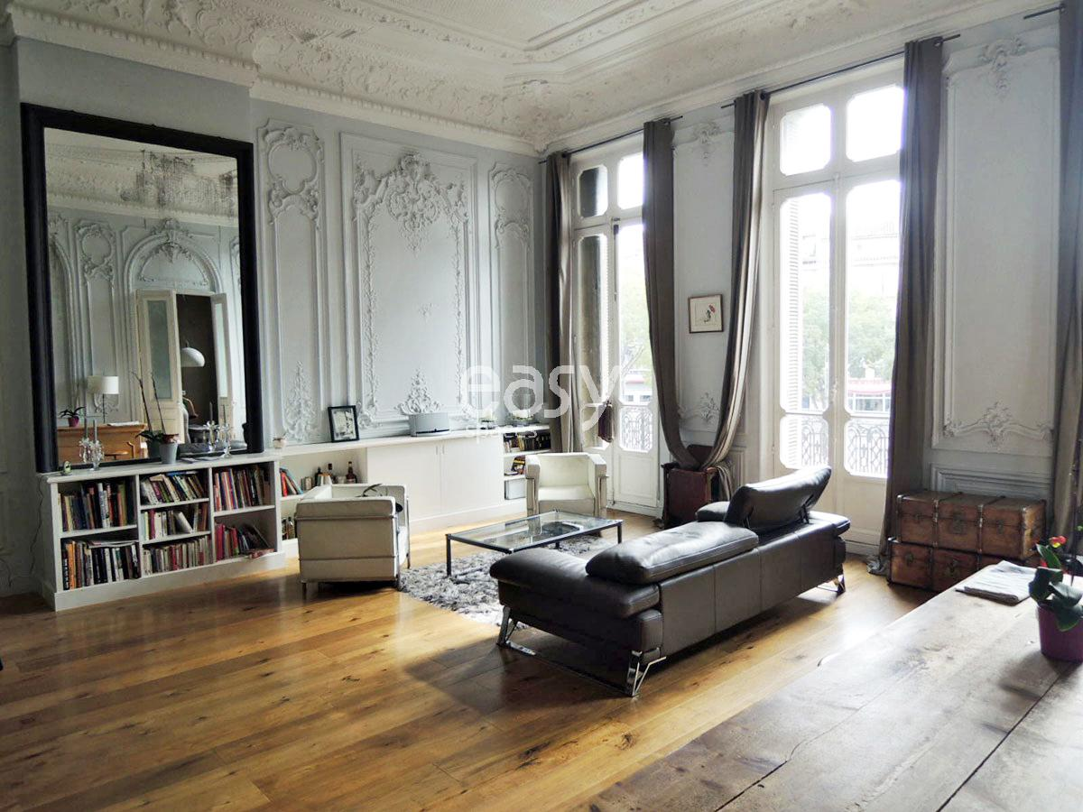 appartement haussmannien lyon pg13 humatraffin. Black Bedroom Furniture Sets. Home Design Ideas
