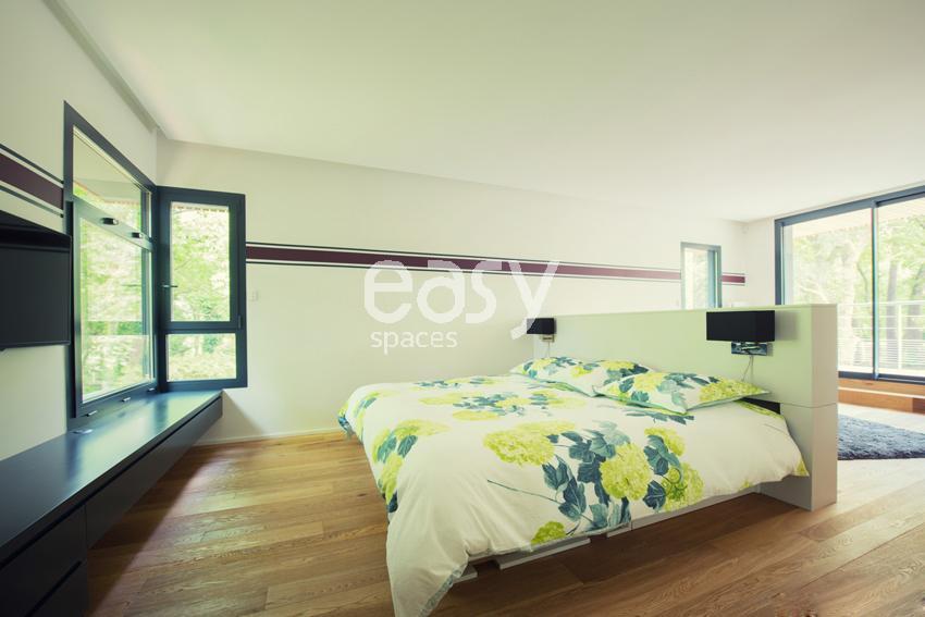 Louer une maison en bois contemporaine pour photo et for Acheter une maison dans le sud ouest de la france