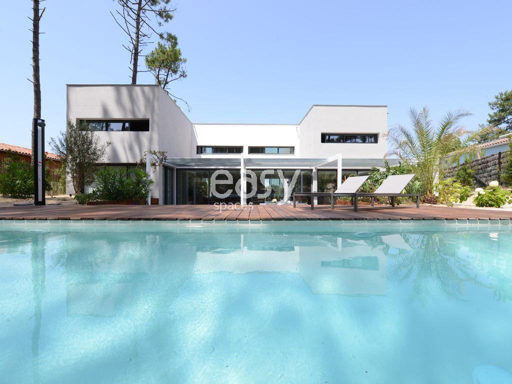 maison moderne pour photos tournage et evenement cap With maison a louer cap ferret avec piscine 14 villa contemporaine en bois au cap ferret
