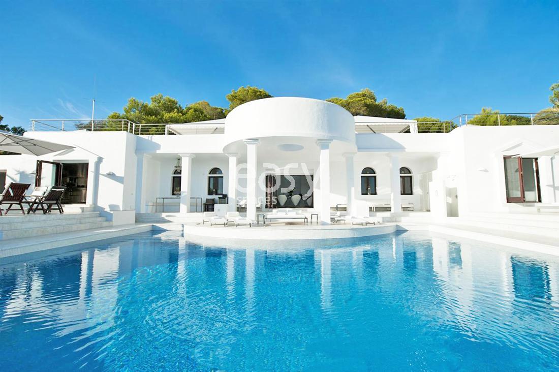 Maison contemporaine vue mer espagne ventana blog - Villa de luxe minorque esteve estudio ...