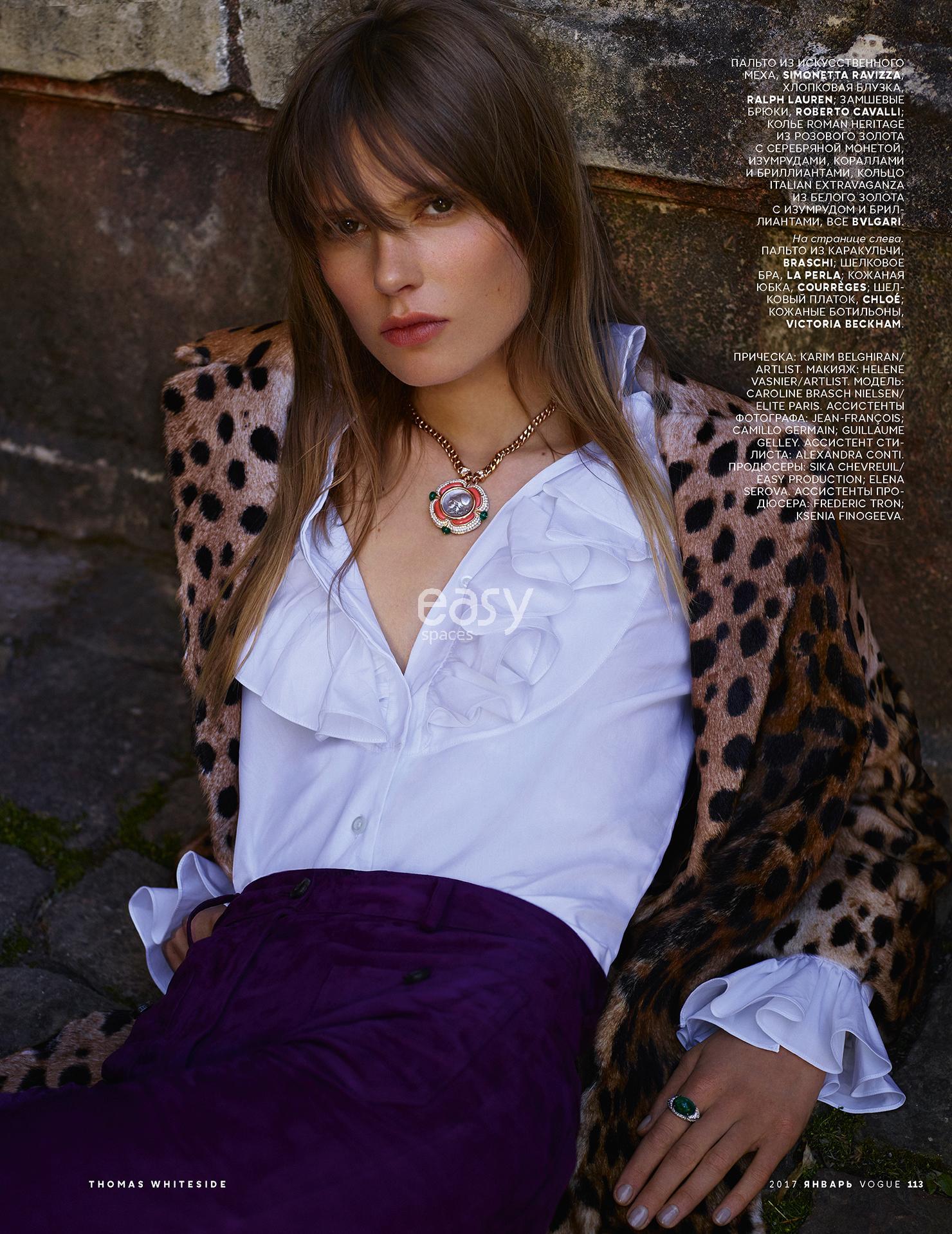 production photo à Nice pour Vogue