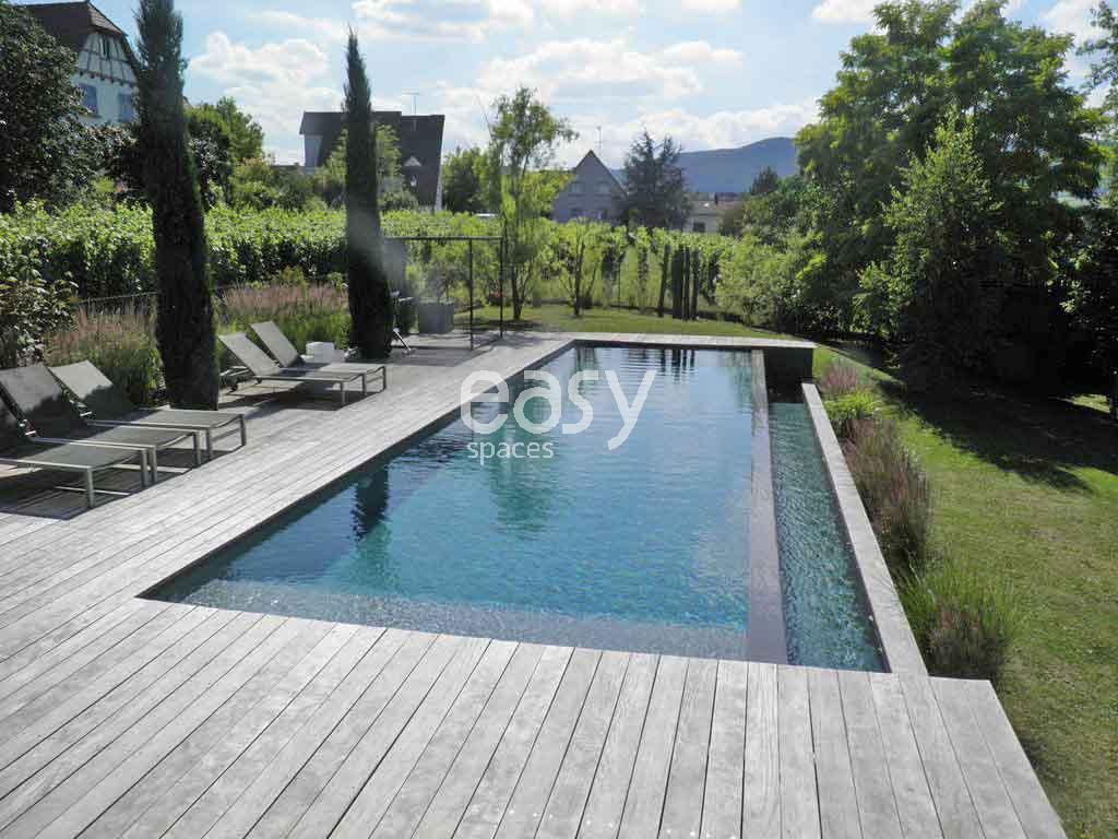 Piscine En Bois Alsace location villa contemporaine en bois avec piscine pour