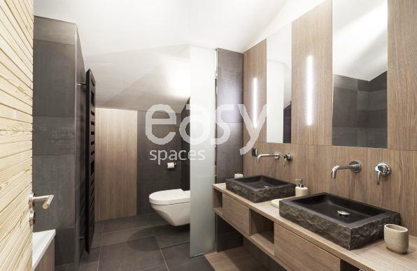 Stunning Salle De Bain Esprit Chalet Ideas - Awesome Interior Home ...