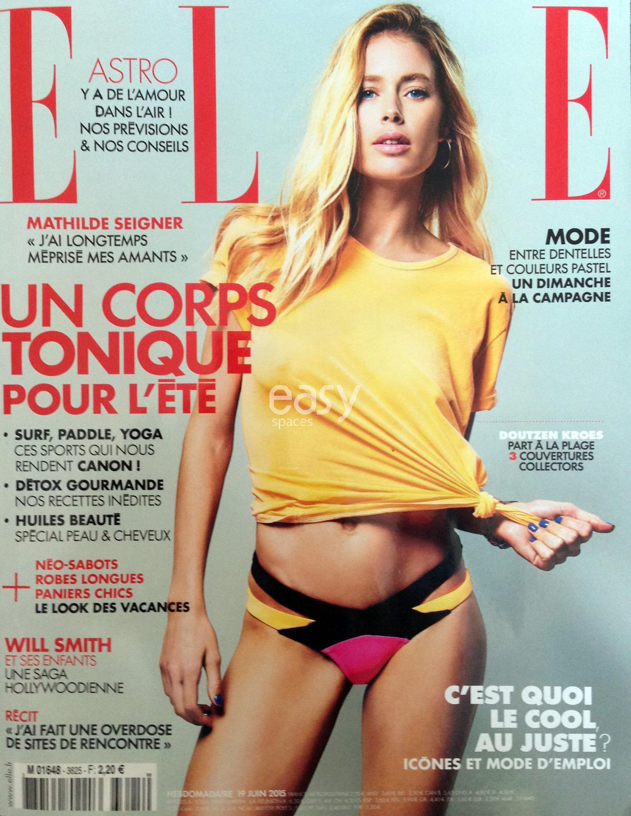 shooting photo avec Doutzen Kroes à Cannes pendant le Festival 2015