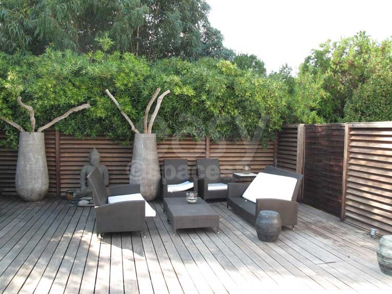 terrasse zen bois. Black Bedroom Furniture Sets. Home Design Ideas
