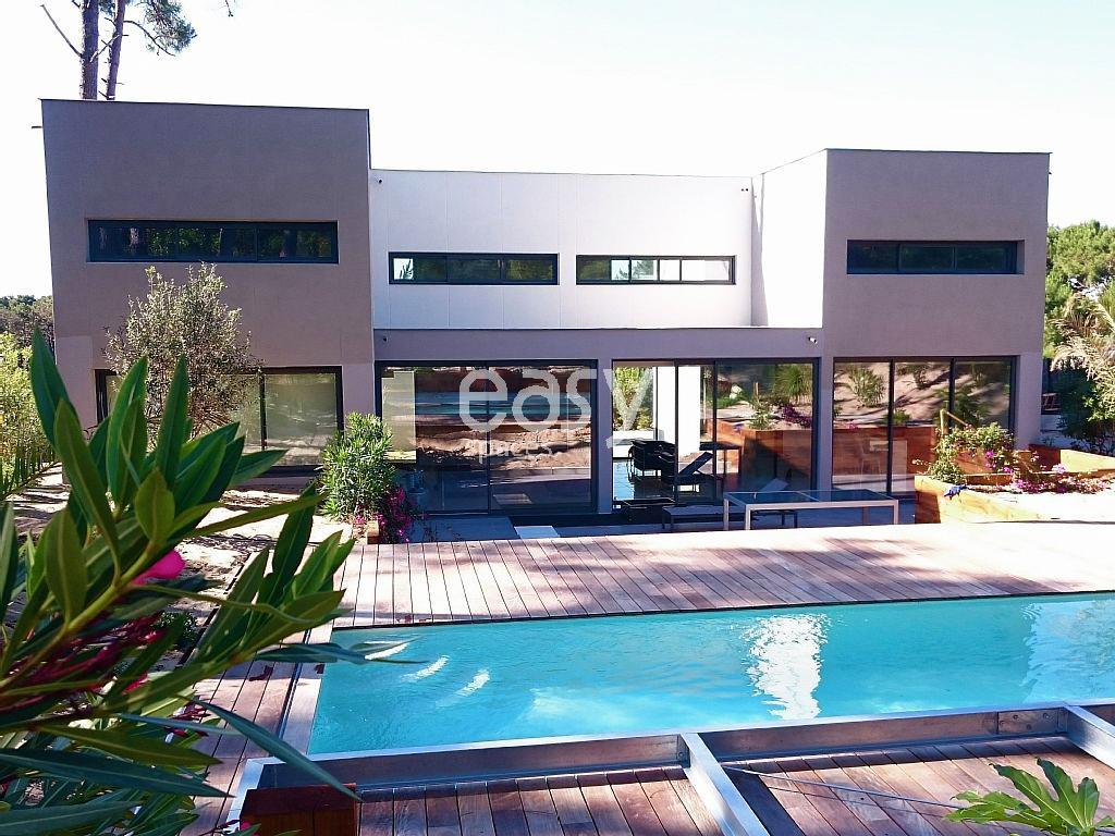Maison moderne pour photos tournage et v nement cap for Maison a louer cap ferret avec piscine