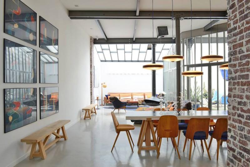 Location loft tr s moderne et atypique pour shooting photo for Maison loft atypique