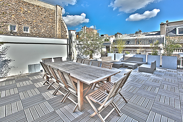 Trouver un toit-terrasse sur Paris pou une production photo