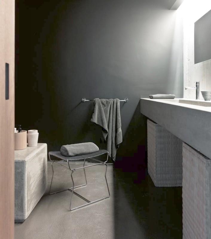 Décor de salle de bain pour shooting photo