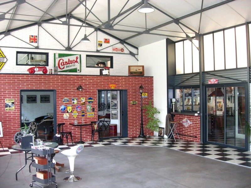garage vintage événementiel