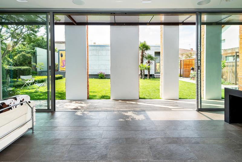 Louer une villa d'architecte pour une production photo