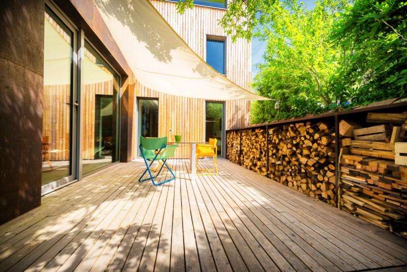 Terrasse en teck pour catalogue de mobilier de jardin