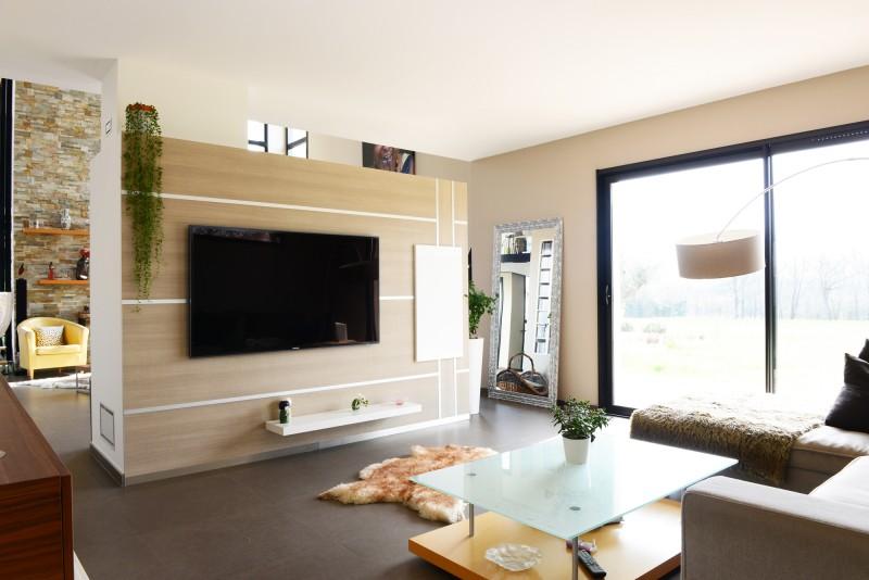 maison contemporaine prise de vue lyon