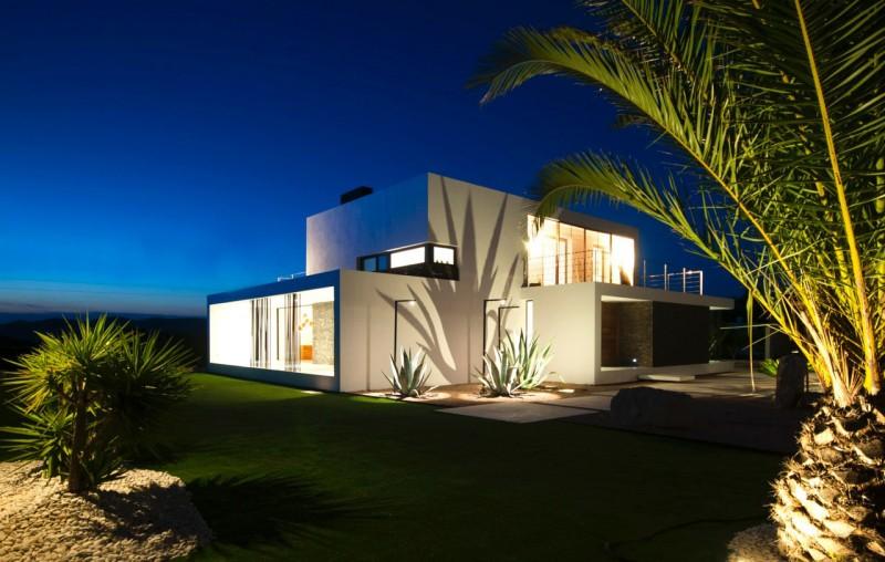 Villa contemporaine à louer pour des photos à Ibiza