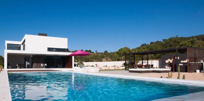 villa ultra contemporaine pour production photo Ibiza