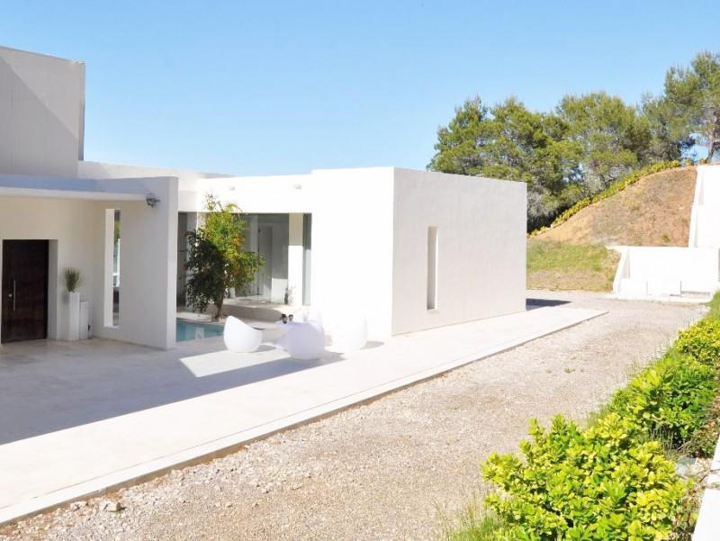 maison contemporaine pour prise de vue Ibiza