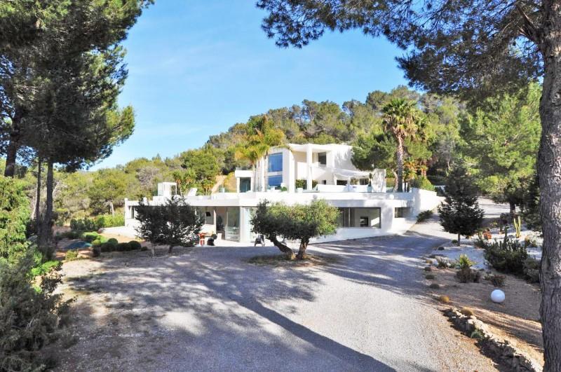 louer une maison moderne pour un shooting photo à Ibiza