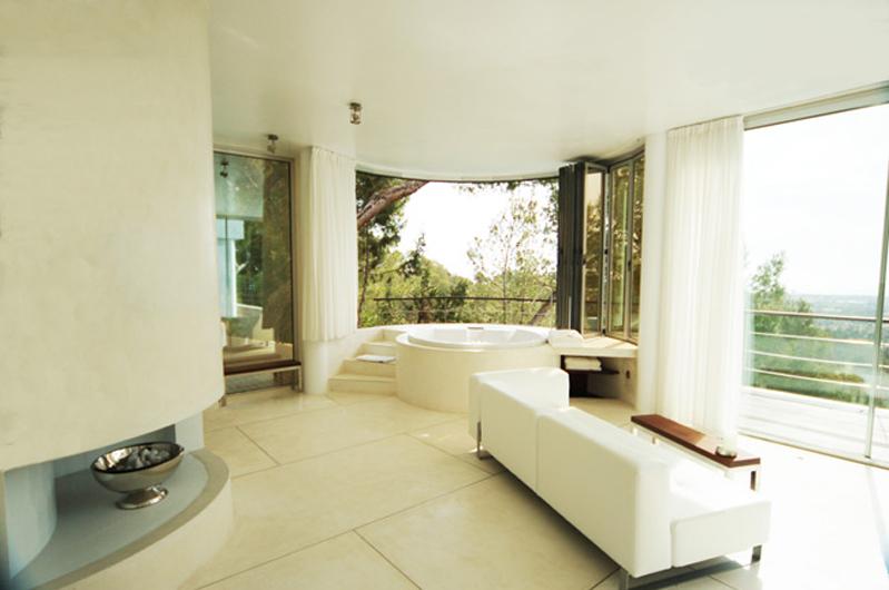 maison contemporaine pour tournage ibiza