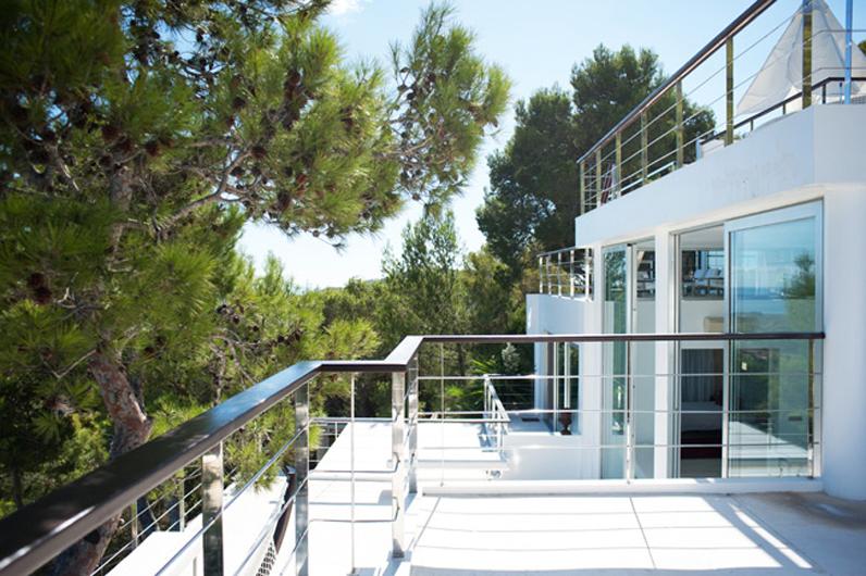 villa contemporaine pour shooting ibiza