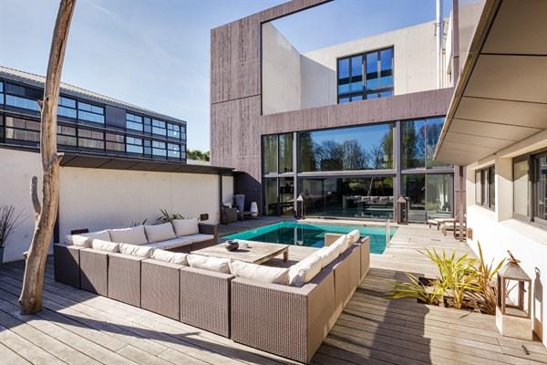 villa contemporaine a louer pour tournage paris