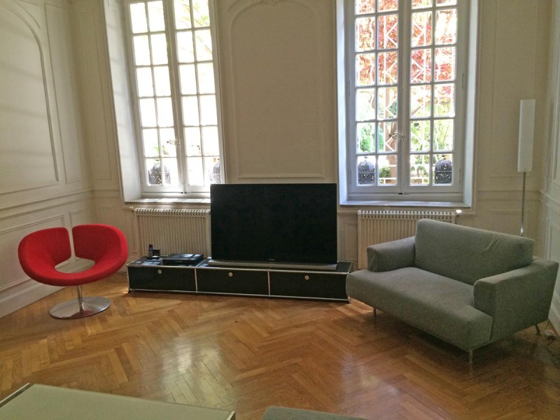 louer un appartement avec jardin pour prises de vues photos, Marseille