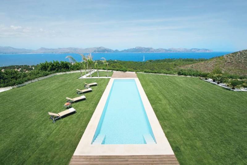 villa luxueuse pour prises de vues photos