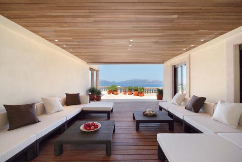 villa ultra luxe pour shooting