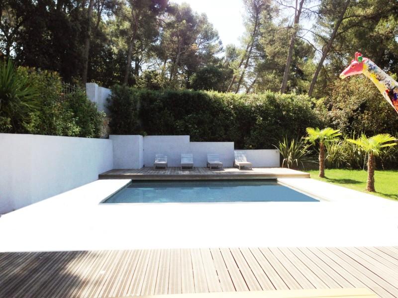villa contemporaine pour un shooting photo, Aix-en-Provence