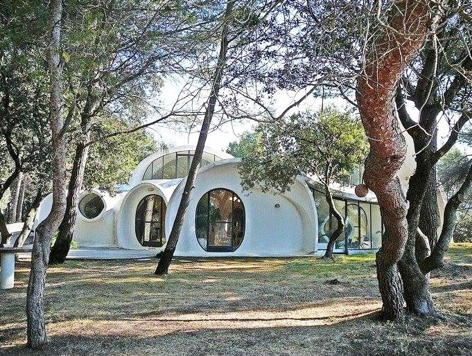 location d'une maison atypique vers Avignon