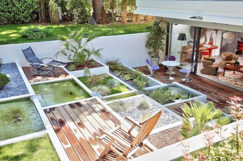 décor pour shooting de mobilier de jardin