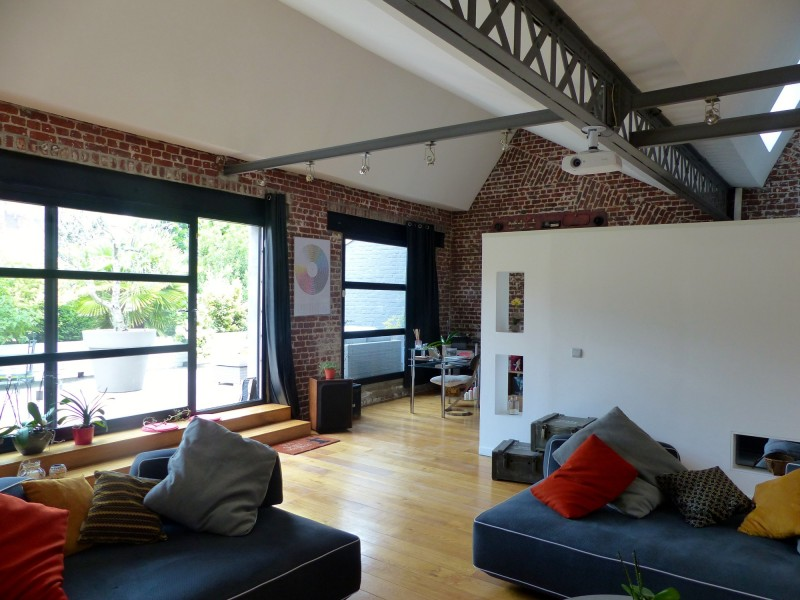loft style new-yorkais pour photo lille