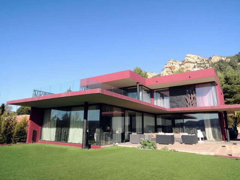 maison contemporaine pour tournage