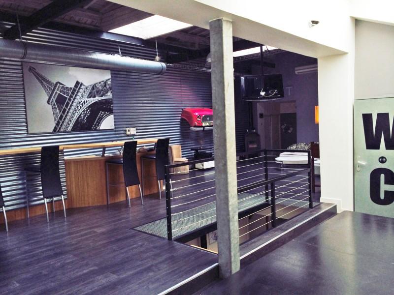 Loft contemporain pour production photo