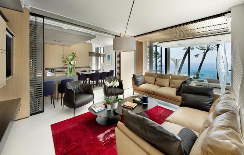 Villa ultra contemporaine pour un shooting photo