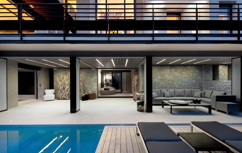 Villa ultra moderne pour prises de vues et tournage, Monaco, Nice, Saint-Tropez