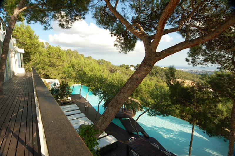villa contemporaine pour production ibiza