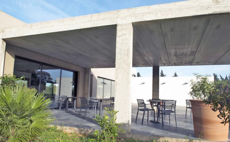 villa d'architecte pour une production photo