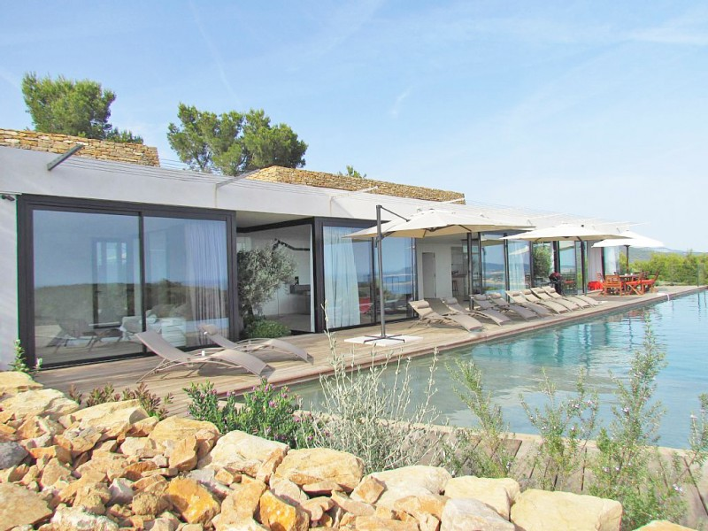 maison contemporaine pour shooting photo Bandol
