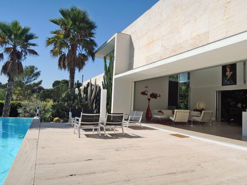 villa contemporaine pour production de film à Nice