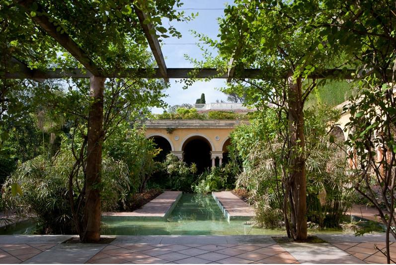 jardin à la Française pour prises de vues Nice