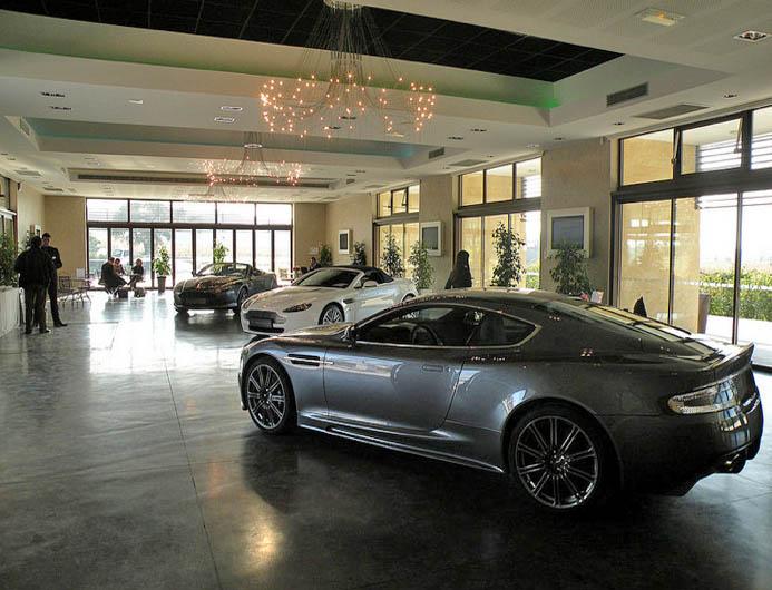 Maison contemporaine pour lancement de produit voitures, Saint-Tropez