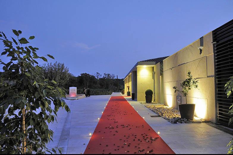 Louer une villa contemporaine aux coeurs des vignes pour événementiel