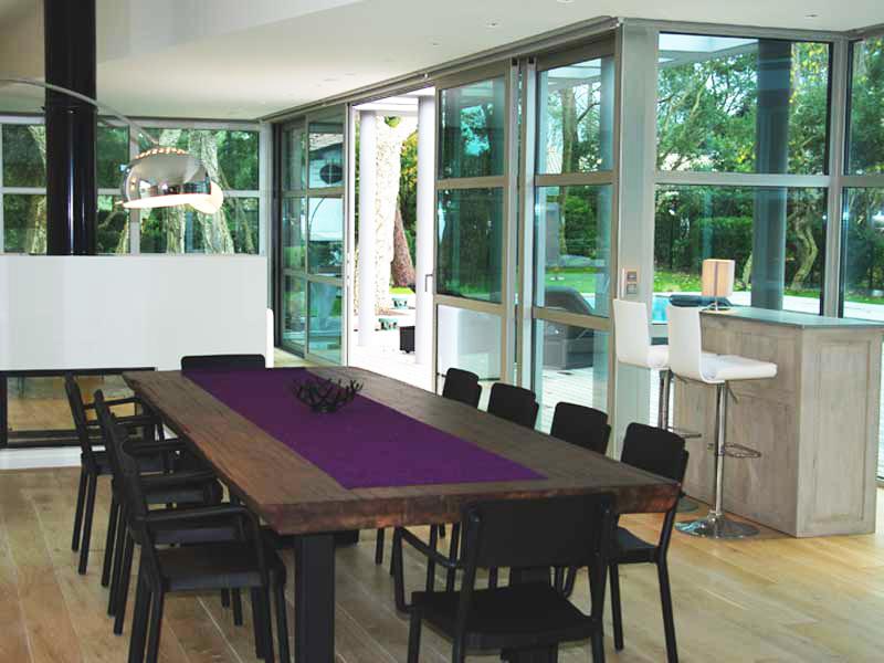 Louer une maison contemporaine pour photo et tournage for Acheter une maison dans le sud ouest de la france