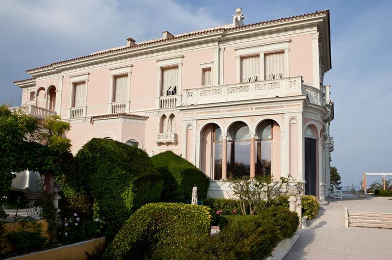 villa Riviera avec jardin à la Française, nice
