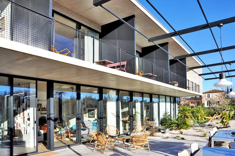 maison moderne pour tournage