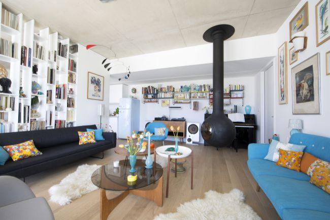 Louer une maison contemporaine pour shooting