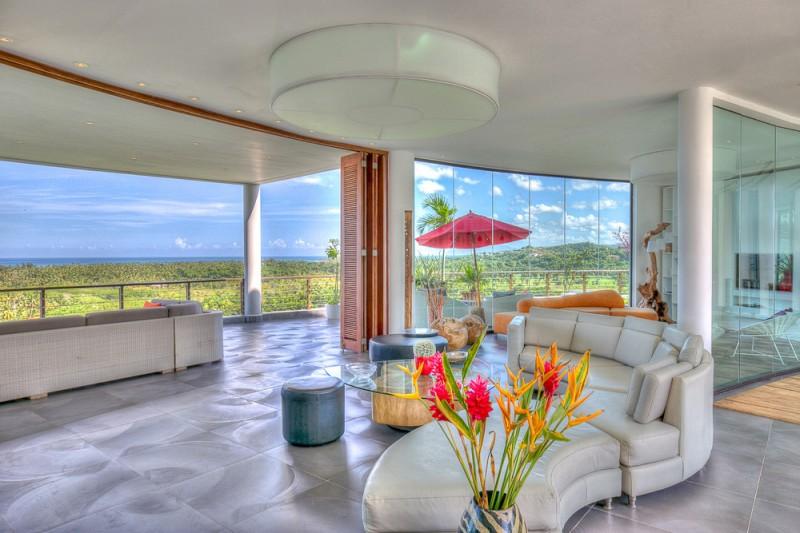 Villa contemporaine pour prises de vues et tournage en république dominicaine