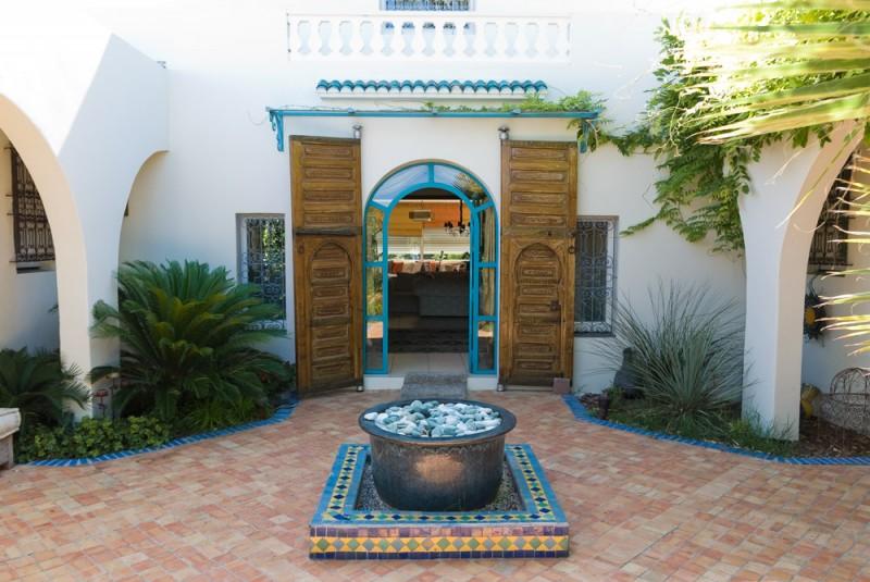 maison de style orientale pour photo