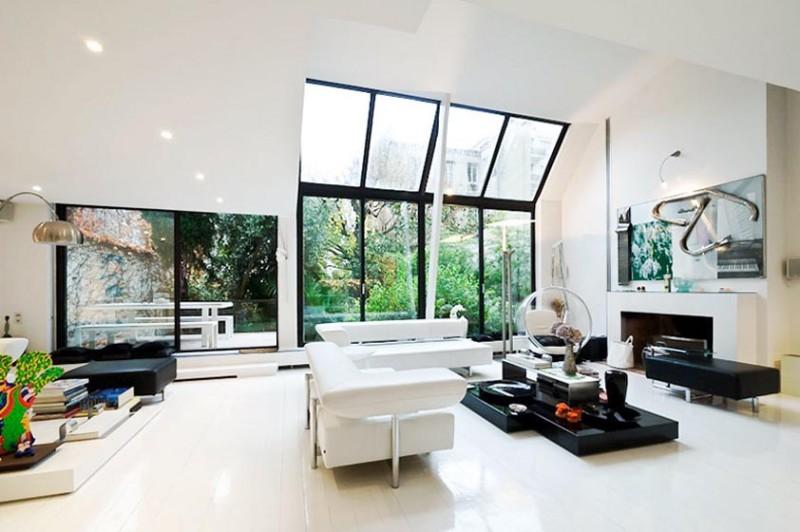 loft contemporain pour shooting Paris
